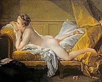 tablou francois boucher - odalisque (1751)