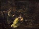 Tablou canvas rembrandt (1)