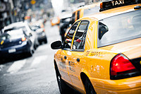 Tablou canvas new york, taxi (3)