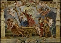 tablou rubens - triumph of the catholic church