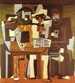 tablou picasso- three musicians [1921]