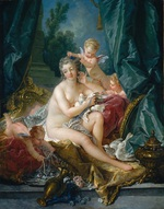 tablou francois boucher - venus (1751)