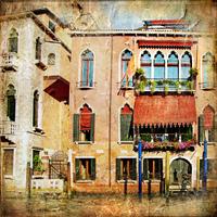 tablou venetia, vintage, italia (159)