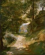 tablou henri georges alexandre regnault - the pyrenees