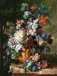 tablou flori, reproducere pictura (132), 1724