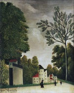 tablou henri julien felix rousseau - village street