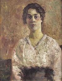 tablou marcel dyf - portrait of woman