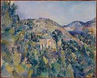 tablou paul cezanne - view of the domaine saint joseph