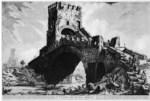 tablou piranesi - roma antica, alb negru 20