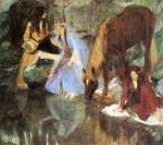 tablou 1868  edgar degas - mademoiselle fiocre dans le ballet