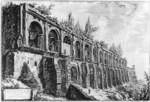 tablou piranesi - roma antica, alb negru 40