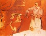 tablou 1895  edgar degas - la coiffure