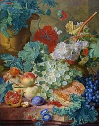 tablou flori, reproducere pictura (107), 1728