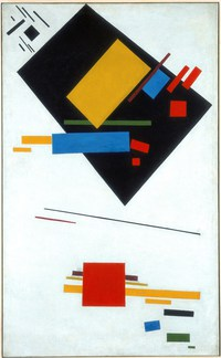 tablou kazimir malevich - suprametism (2)