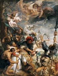 tablou rubens - the martyrdom of st livinus