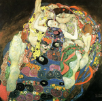 Tablou canvas Gustav Klimt - maiden