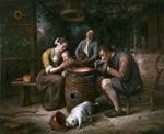tablou jan steen - prayer before the meal