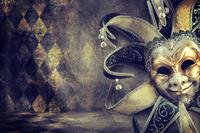 tablou masca, vintage (2)