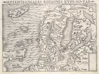 Tablou canvas Scandinavia, 1578