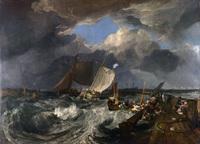 tablou joseph mallord william turner il molo di calais, 1803