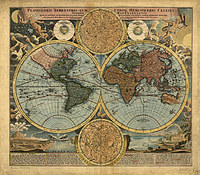 tablou harta antica (200)