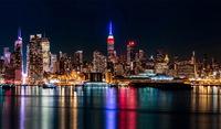 tablou brooklyn, manhattan, new york, night (103)