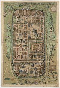Tablou canvas jerusalem, 1584