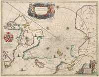 tablou Polul Nord,  1640