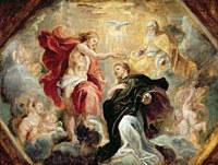 tablou rubens - coronation of mary