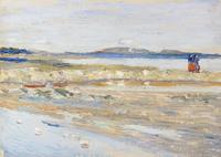 tablou wassily kandinsky - tunis, strand, 1905.