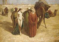 tablou eduard ansen hofmann - bidding