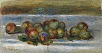tablou pierre auguste renoir - reines claude plums