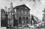 tablou piranesi - roma antica, alb negru 33