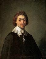tablou rembrandt - portret of mauritz hagens (1632)