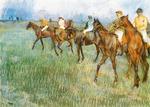 tablou 1888  edgar degas - josckeys sous la pluie