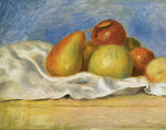 tablou renoir - still life with apples and pears, 1890