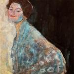 Tablou canvas Gustav Klimt - woman portrait (3)